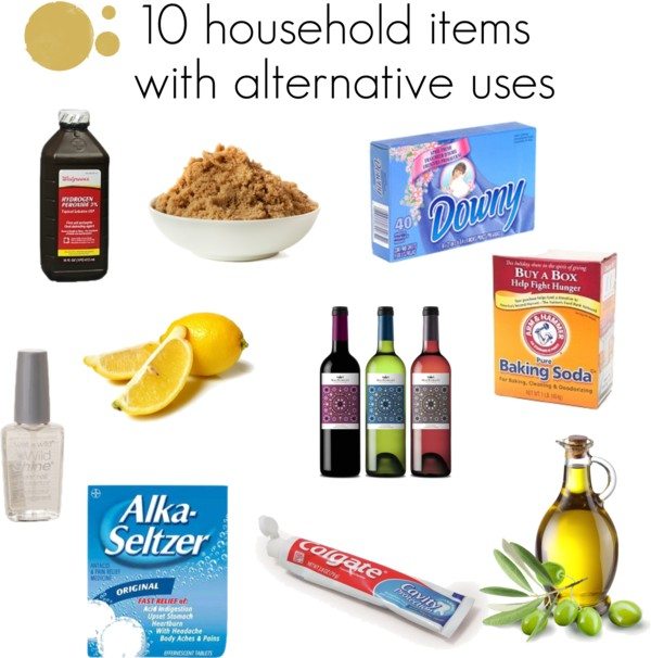 10 household items with alternative uses - Alternative uses for household items ...