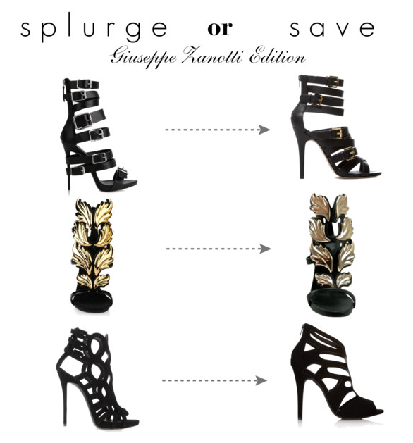 gisueppe zanotti look for less