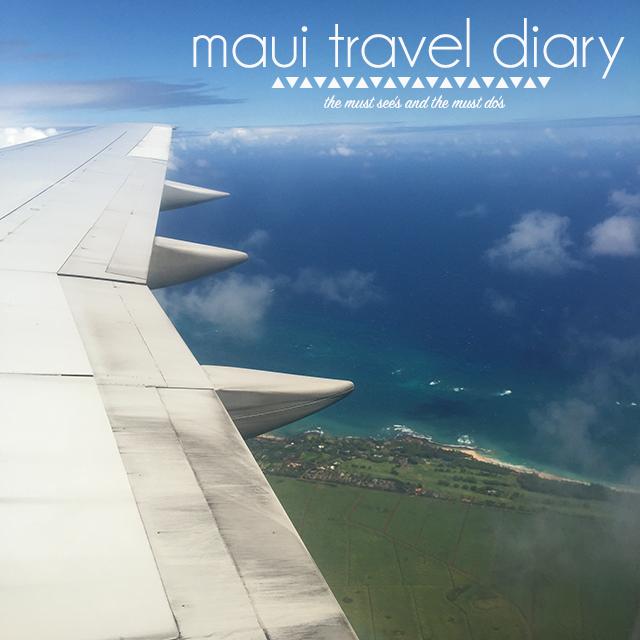 Maui Vacation – Travel Diary