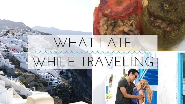 YouTube // What I Ate While Traveling in Greece