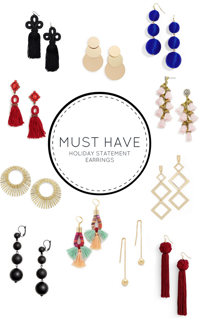 11 Must Have Holiday Statement Earrings