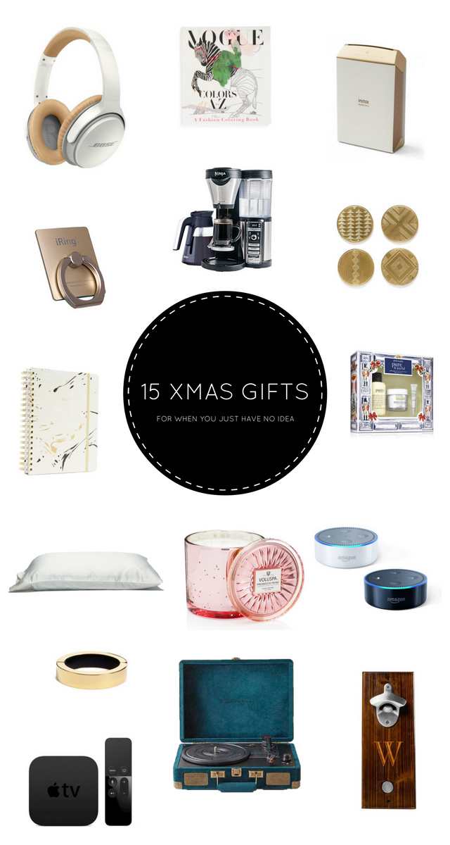 15 Christmas Gift Ideas (For When You Have No $%# Clue)