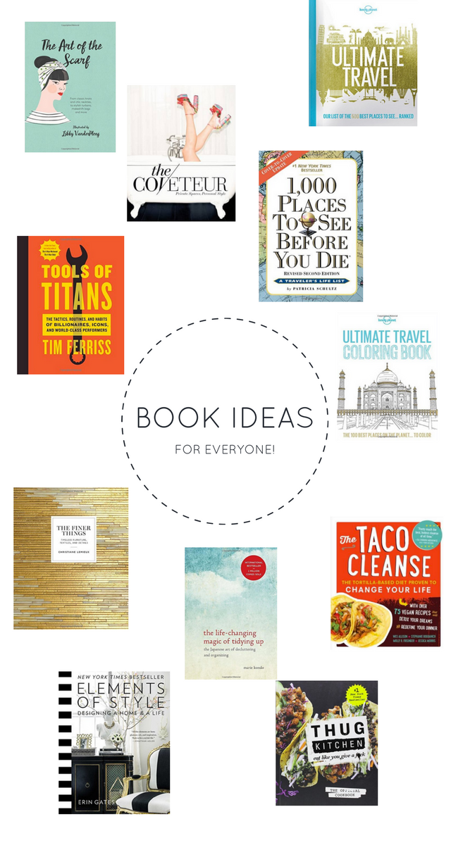 holiday-gift-ideas-2016, christmas gift ideas, last minute gift idea, best books to gift, gifting books,