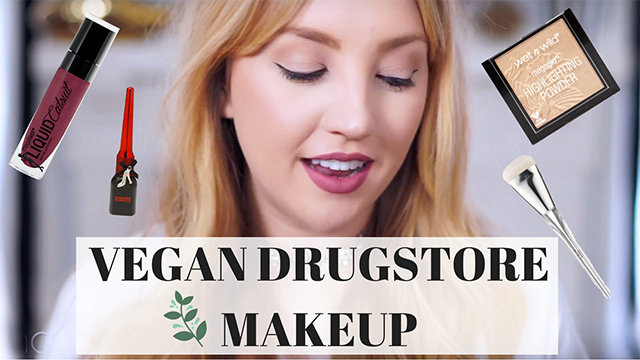 vegan drugstore makeup, youtube, makeup haul, cruelty-free makeup, vegan makeup