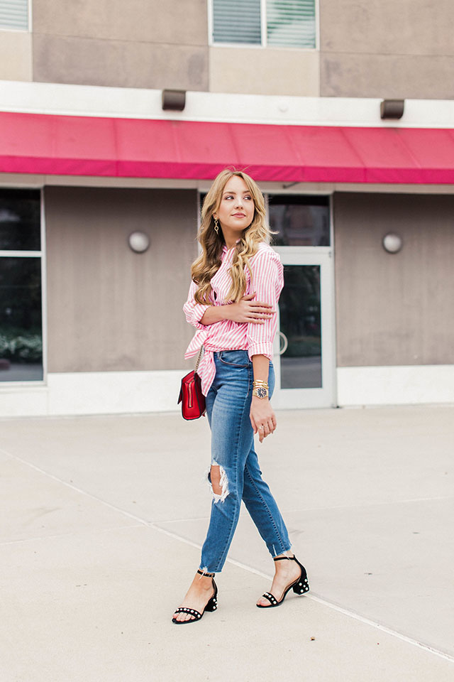 Why Every Closet Should Have A Striped Button-Up