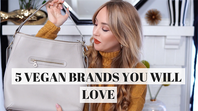 hannah hagler, youtube, vegan youtuber, vegan blogger, vegan fashion, ethical fashion, sustainable fashion, filbert, stella mccartney, veggani, by blanch, matt and nat, lulu's, nastygal, furla
